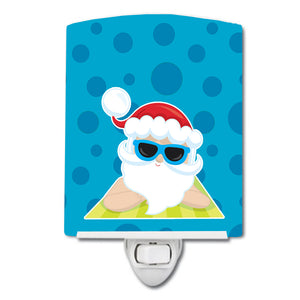 Buy this Beach Santa Claus #7 Ceramic Night Light BB9074CNL