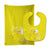 Buy this Unicorn Yellow Stripes Baby Bib & Burp Cloth BB9087STBU