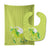 Buy this Unicorn Green Stripes Baby Bib & Burp Cloth BB9088STBU