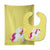 Buy this Unicorn Yellow Stripes #2 Baby Bib & Burp Cloth BB9091STBU