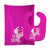 Buy this Unicorn Pink Stripes #2 Baby Bib & Burp Cloth BB9093STBU