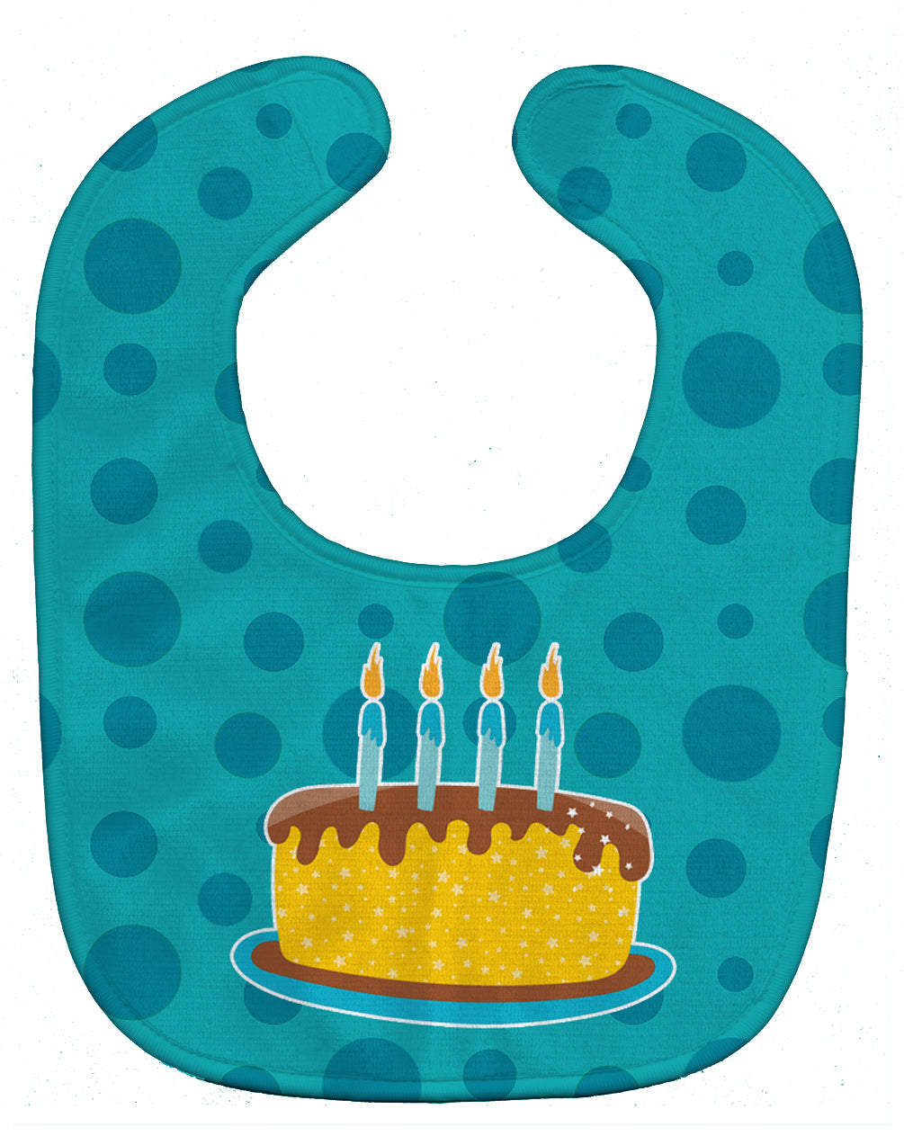Birthday Cake Baby Bib BB9094BIB by Caroline's Treasures