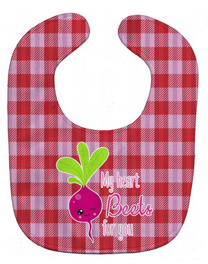 Buy this My heart Beets for You Baby Bib BB9132BIB