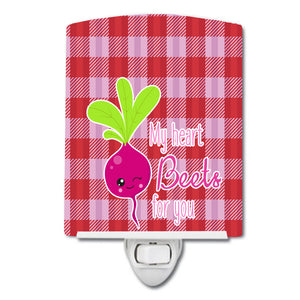 Buy this My heart Beets for You Ceramic Night Light BB9132CNL