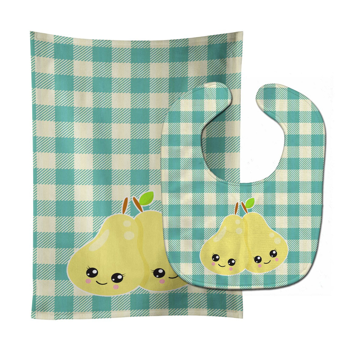 Buy this Pears Baby Bib & Burp Cloth BB9138STBU