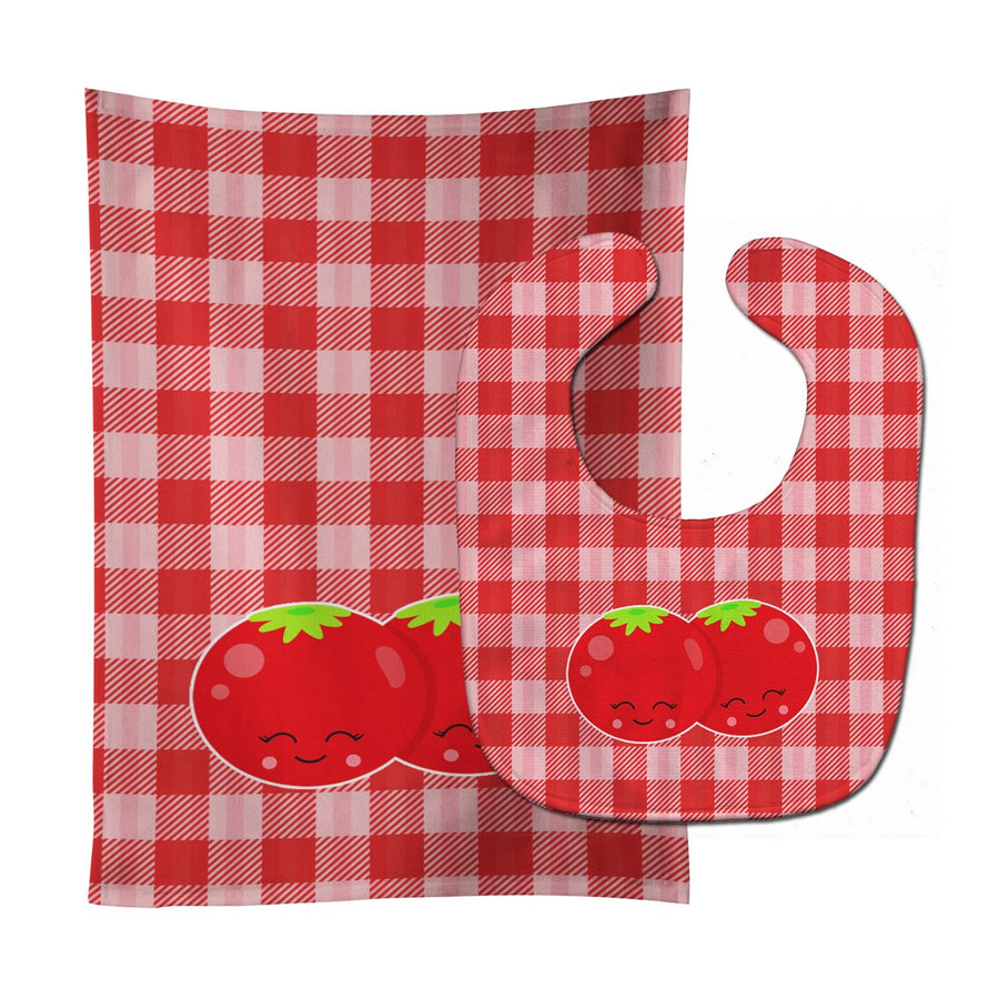 Buy this Tomatoes Baby Bib & Burp Cloth BB9139STBU