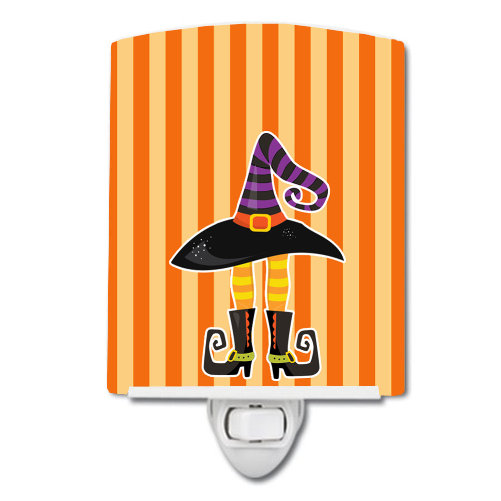 Buy this Halloween Witch's Hat and Legs Ceramic Night Light BB9161CNL