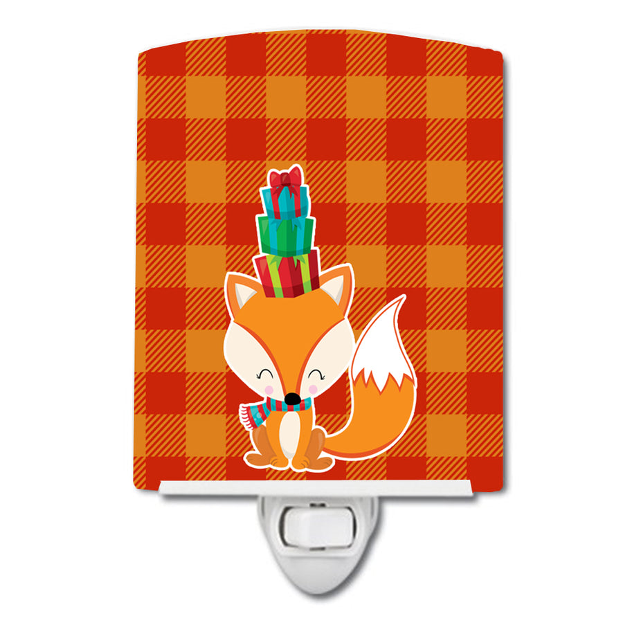 Buy this Christmas Fox Ceramic Night Light BB9173CNL