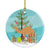 Buy this Arabian Camel Dromedary Christmas Ceramic Ornament BB9184CO1