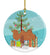 Buy this Bactrian Camel Christmas Ceramic Ornament BB9185CO1