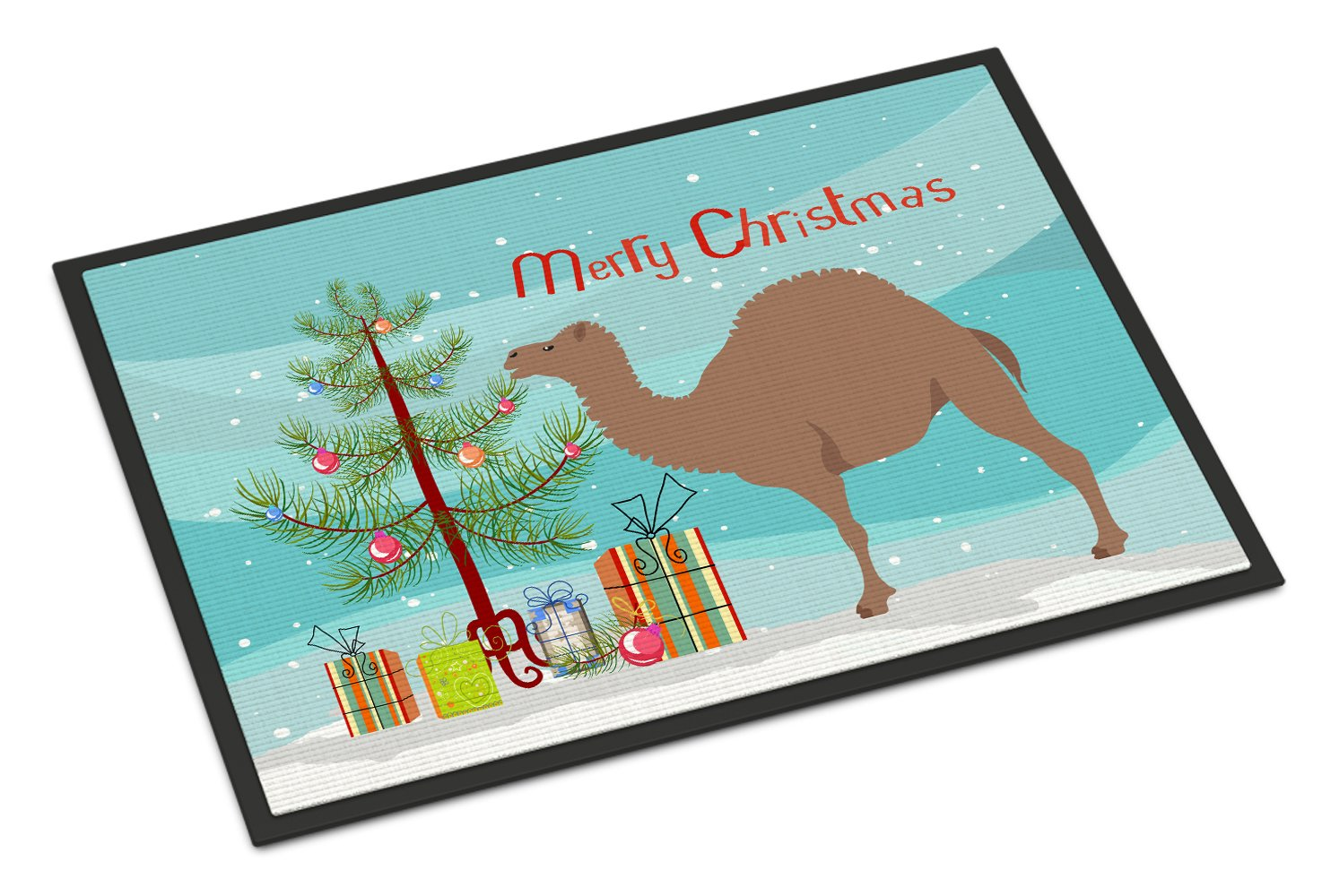 Buy this F1 Hybrid Camel Christmas Indoor or Outdoor Mat 24x36 BB9186JMAT