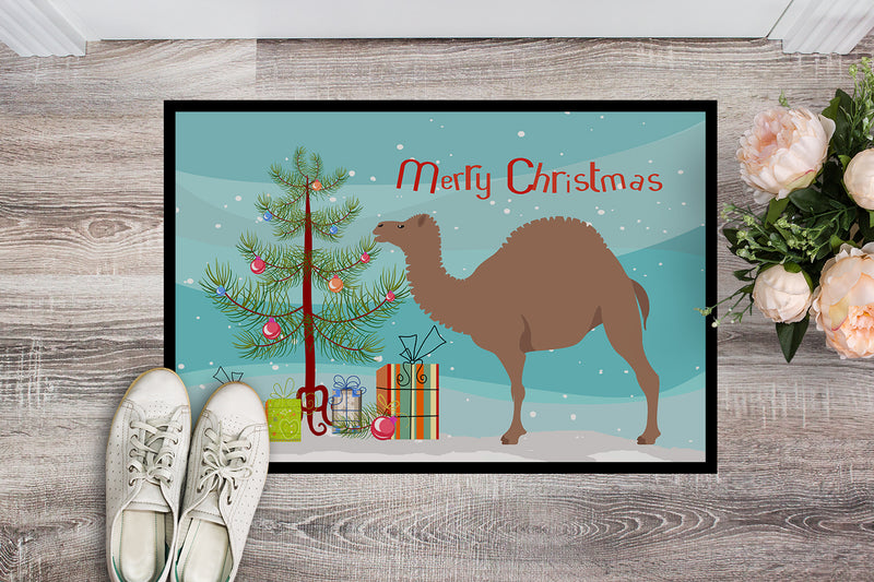 Buy this F1 Hybrid Camel Christmas Indoor or Outdoor Mat 18x27 BB9186MAT