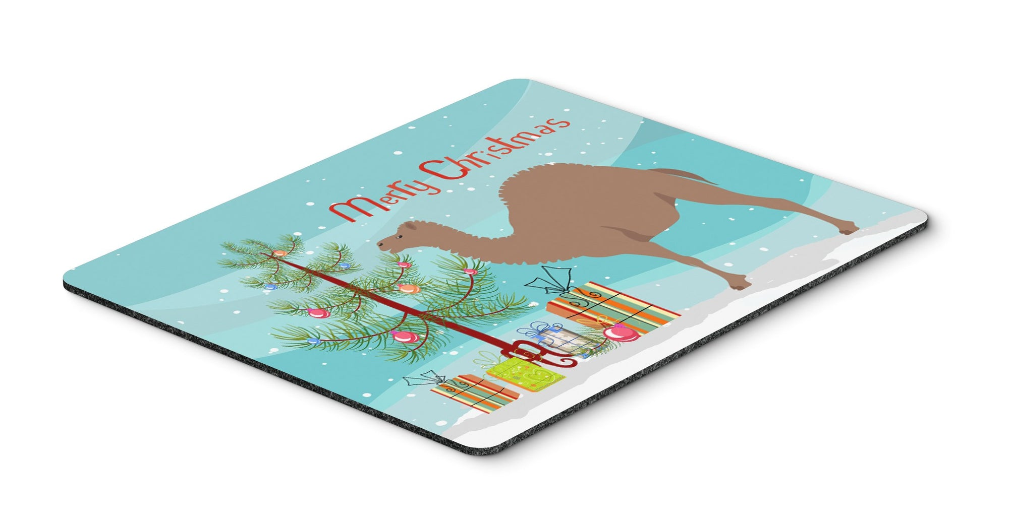 Buy this F1 Hybrid Camel Christmas Mouse Pad, Hot Pad or Trivet BB9186MP