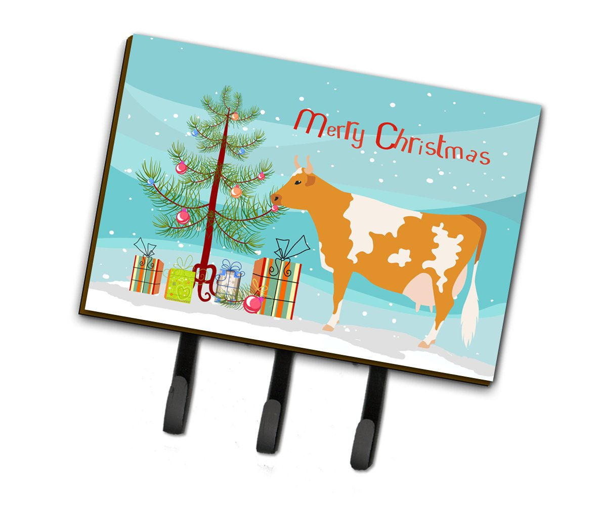 Guernsey Cow Christmas Leash or Key Holder BB9188TH68 by Caroline's Treasures