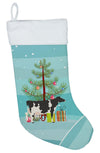 Holstein Cow Christmas Christmas Stocking BB9189CS by Caroline's Treasures