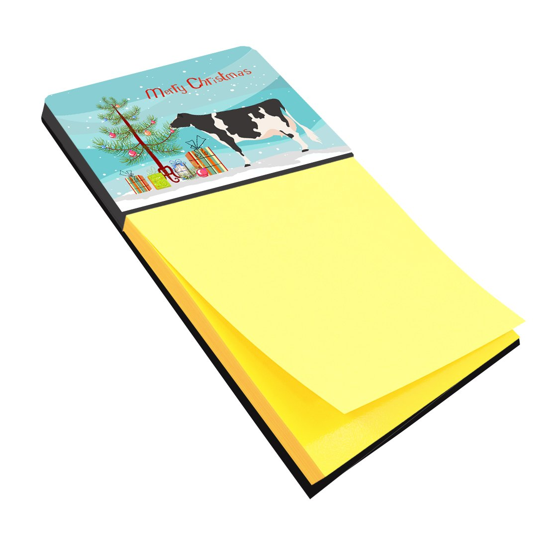 Holstein Cow Christmas Sticky Note Holder BB9189SN by Caroline's Treasures