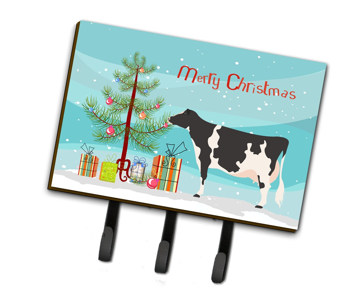 Holstein Cow Christmas Leash or Key Holder BB9189TH68 by Caroline's Treasures
