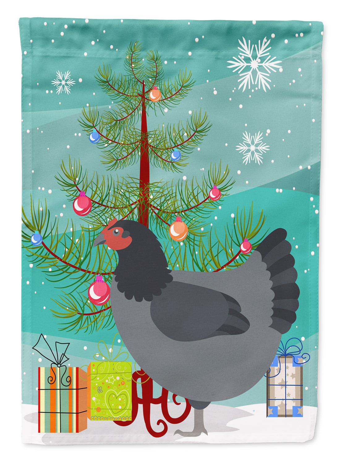 Jersey Giant Chicken Christmas Flag Garden Size BB9202GF by Caroline's Treasures
