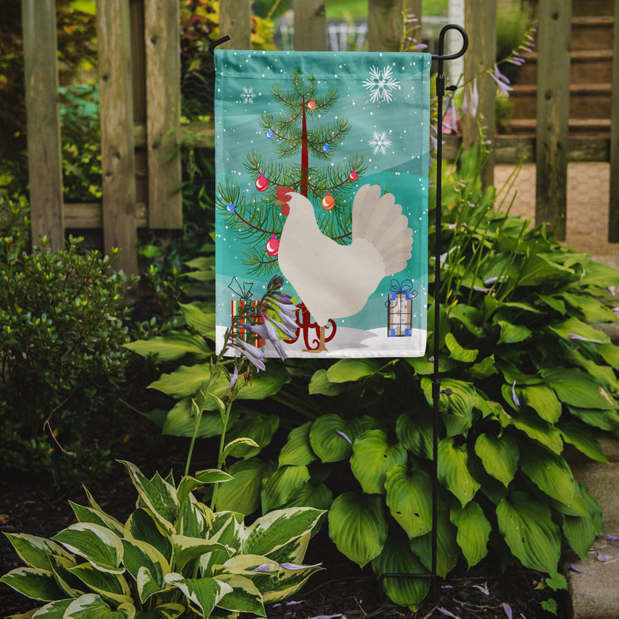 Buy this Leghorn Chicken Christmas Flag Garden Size BB9207GF
