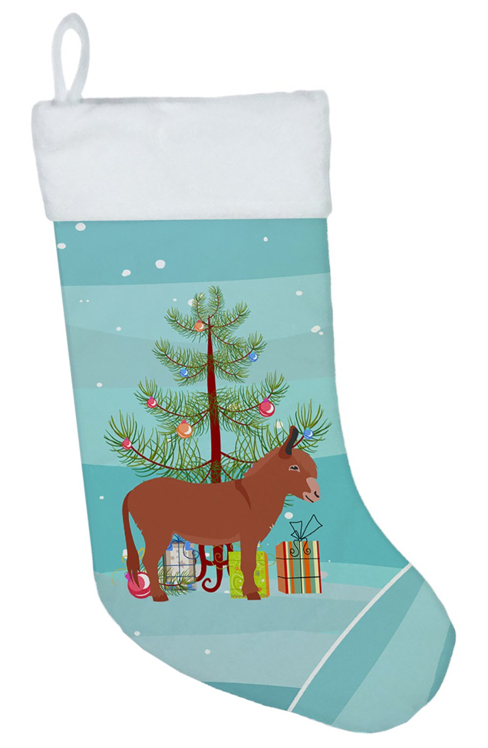 Irish Donkey Christmas Christmas Stocking BB9215CS by Caroline's Treasures