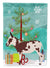 American Spotted Donkey Christmas Flag Garden Size BB9218GF by Caroline's Treasures