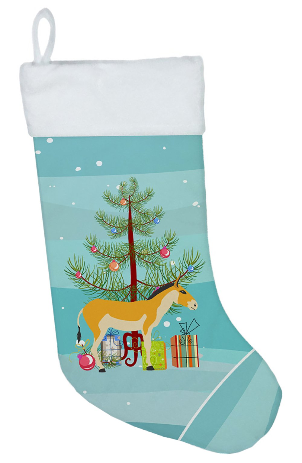 Turkmenian Kulan Donkey Christmas Christmas Stocking BB9221CS by Caroline's Treasures