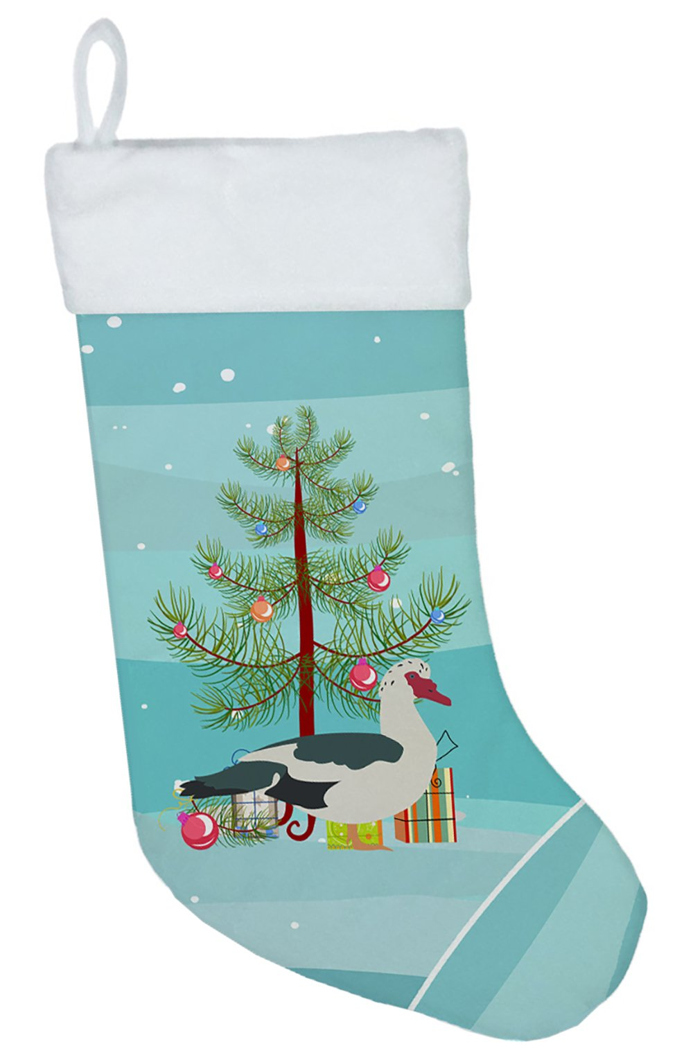 Muscovy Duck Christmas Christmas Stocking BB9231CS by Caroline's Treasures