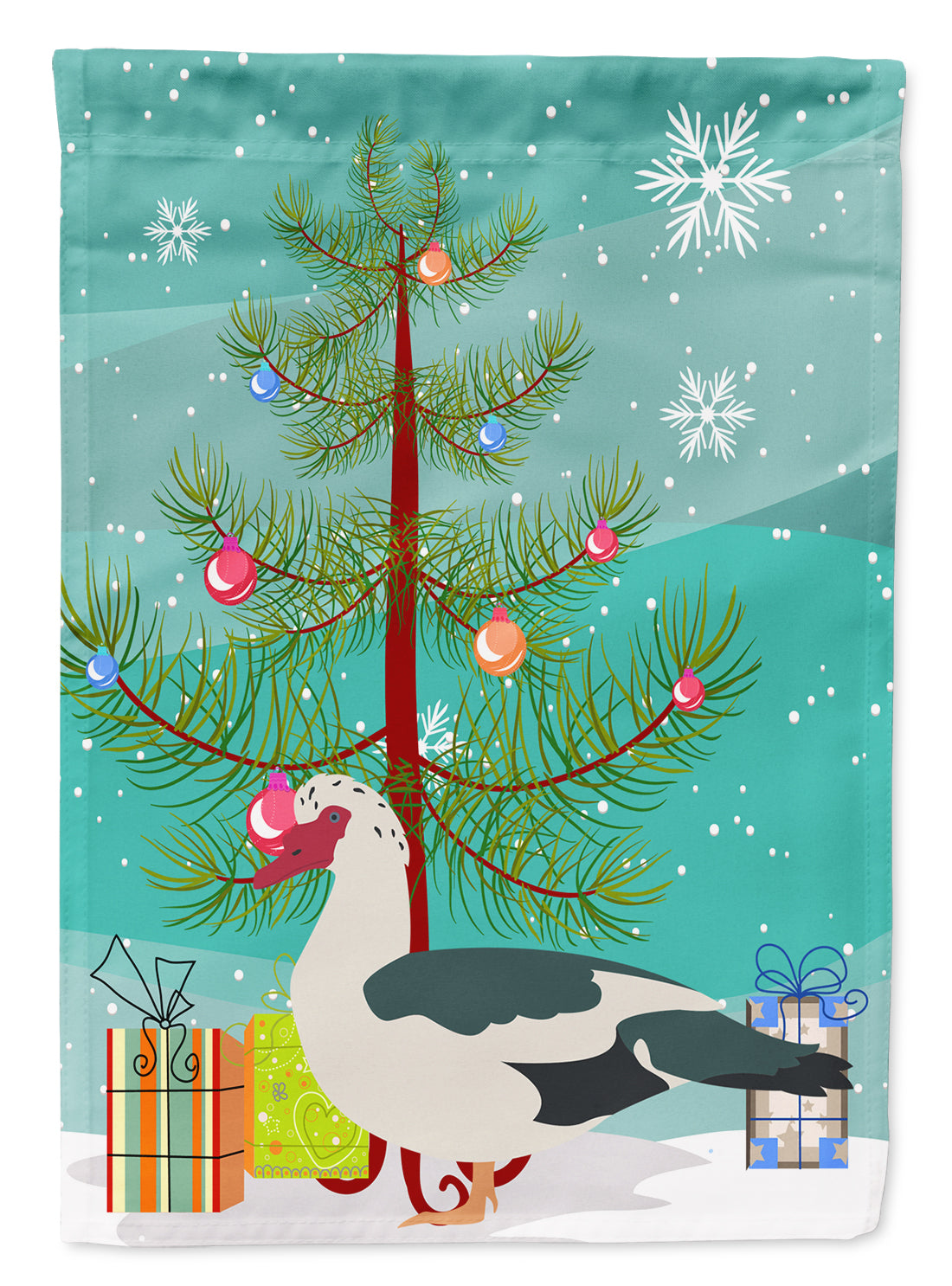 Muscovy Duck Christmas Flag Garden Size BB9231GF by Caroline's Treasures