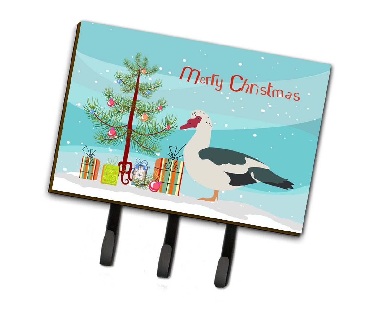 Muscovy Duck Christmas Leash or Key Holder BB9231TH68 by Caroline's Treasures