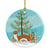 Buy this Weasel Christmas Ceramic Ornament BB9237CO1
