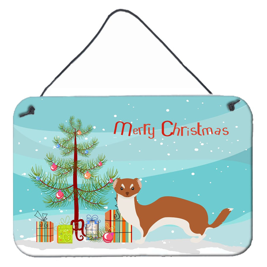 Buy this Weasel Christmas Wall or Door Hanging Prints BB9237DS812