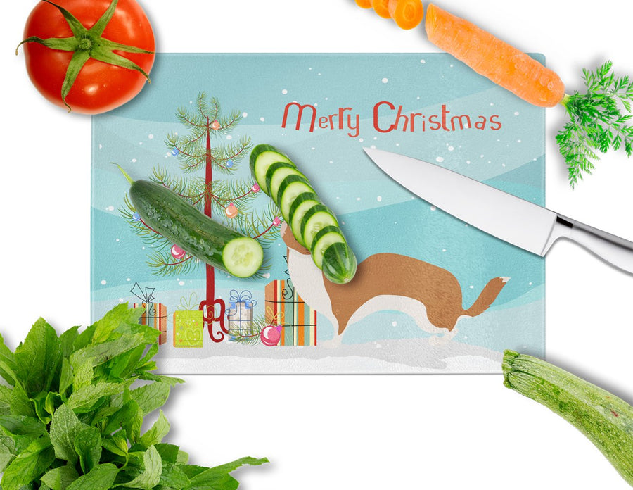 Buy this Weasel Christmas Glass Cutting Board Large BB9237LCB