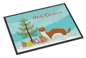 Buy this Weasel Christmas Indoor or Outdoor Mat 18x27 BB9237MAT