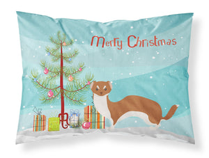 Buy this Weasel Christmas Fabric Standard Pillowcase BB9237PILLOWCASE
