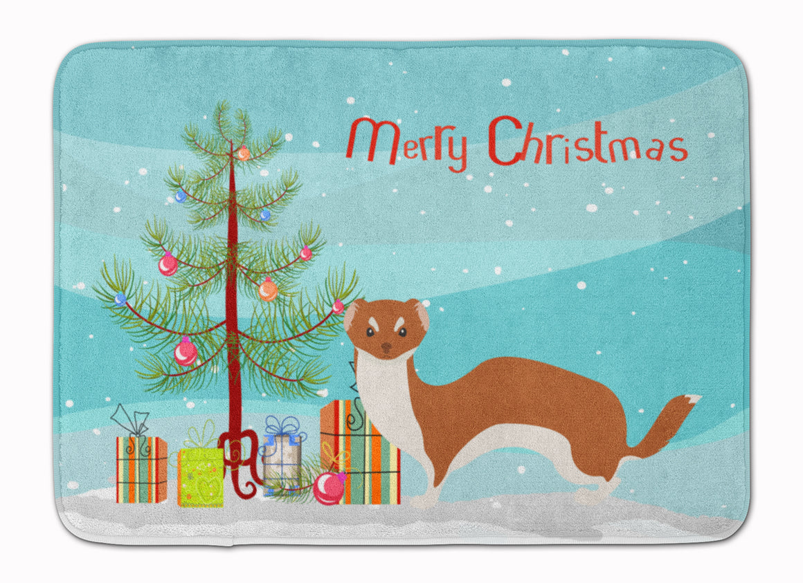 Buy this Weasel Christmas Machine Washable Memory Foam Mat BB9237RUG