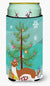 Buy this Weasel Christmas Tall Boy Beverage Insulator Hugger BB9237TBC
