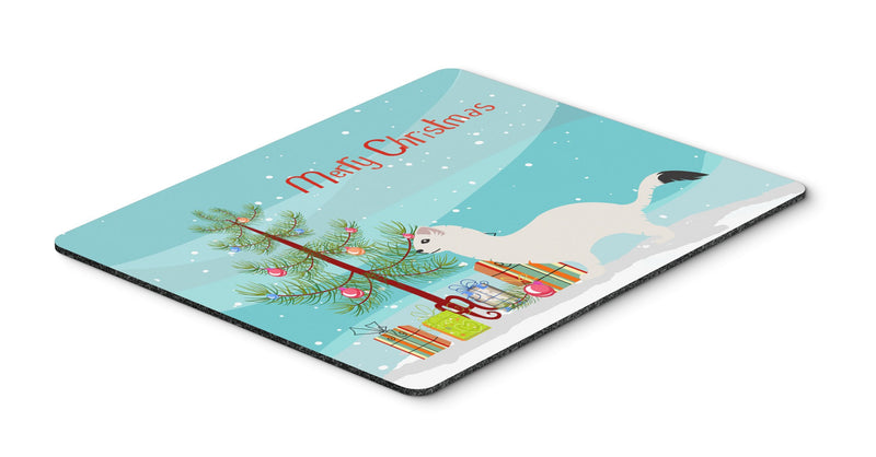 Buy this Stoat Short-tailed Weasel Christmas Mouse Pad, Hot Pad or Trivet BB9239MP