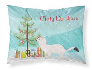 Buy this Stoat Short-tailed Weasel Christmas Fabric Standard Pillowcase BB9239PILLOWCASE