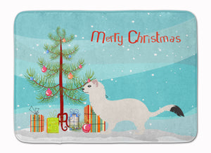 Buy this Stoat Short-tailed Weasel Christmas Machine Washable Memory Foam Mat BB9239RUG