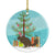Buy this Chinchilla Christmas Ceramic Ornament BB9242CO1
