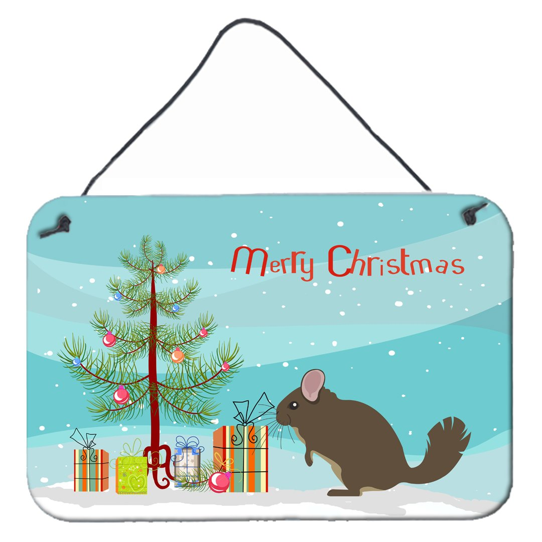 Buy this Chinchilla Christmas Wall or Door Hanging Prints BB9242DS812