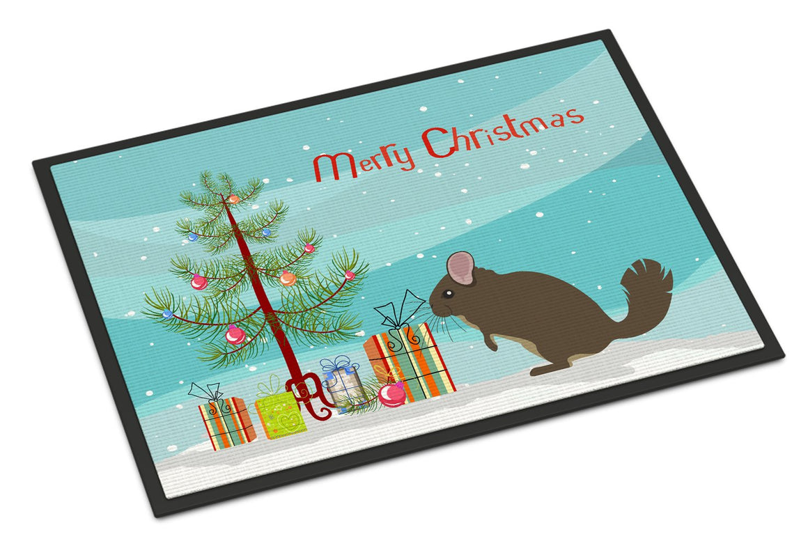 Buy this Chinchilla Christmas Indoor or Outdoor Mat 24x36 BB9242JMAT