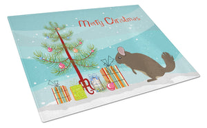 Buy this Chinchilla Christmas Glass Cutting Board Large BB9242LCB