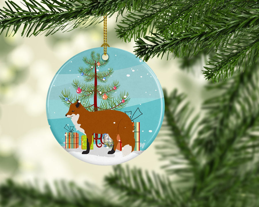 Buy this Red Fox Christmas Ceramic Ornament BB9243CO1