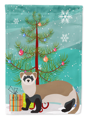 Buy this Ferret Christmas Flag Garden Size BB9245GF