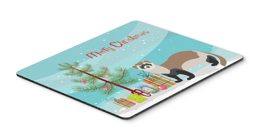 Buy this Ferret Christmas Mouse Pad, Hot Pad or Trivet BB9245MP