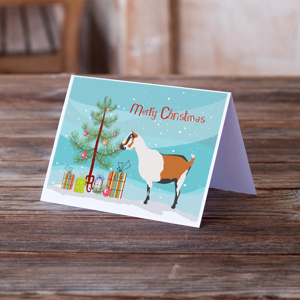Buy this Alpine Goat Christmas Greeting Cards and Envelopes Pack of 8