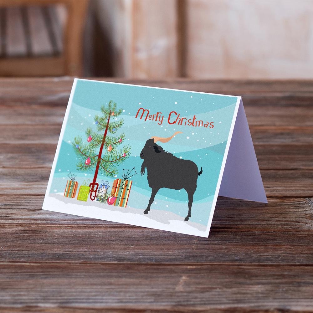 Buy this Verata Goat Christmas Greeting Cards and Envelopes Pack of 8