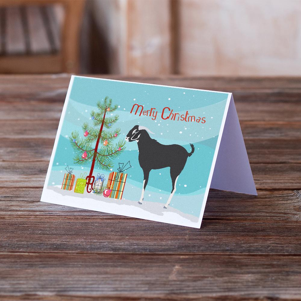 Buy this Black Bengal Goat Christmas Greeting Cards and Envelopes Pack of 8