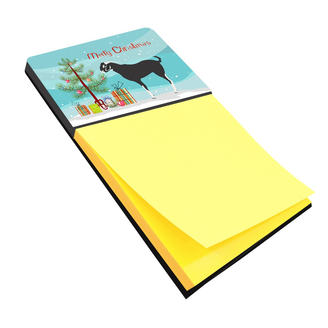 Black Bengal Goat Christmas Sticky Note Holder BB9251SN by Caroline's Treasures